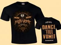 NUCLEAR VOMIT - Coverart - Dance 'till Vomit - T-Shirt