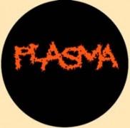 PLASMA - Logo / Black - Button/Badge/Pin (12)