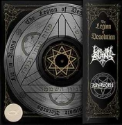 PURGATORY / LIE IN RUINS - Picture 12'' split LP - The Legion of Desolation