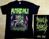 PUTRID PILE - Revel In Lunacy - T-Shirt