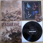 """free at 150€+ orders: RAZOR RAPE - 12"""" LP - Orgy in Guts - (BLACK VINYL)"""