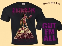 RAZORRAPE - Stripped to Kill - T-Shirt