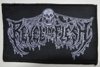 REVEL IN FLESH - Logo - woven Patch