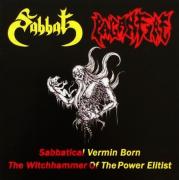 SABBAT / PAGANFIRE - split CD - Sabbatical Vermin Born - The Witchhammer Of The Power Elitist