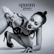"SPASM -12"" LP- Pussy De Luxe (red transparent, black marbled Vinyl)"