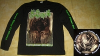 Satans Revenge On Mankind - Supreme - Black Longsleeve - size XXL (2nd Hand)