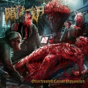 THE DARK PRISON MASSACRE - CD - Overtreated Cause Opposited