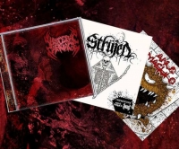 VISCERAL CARNAGE / STRUJEN / ANUS MAGULO - split CD -