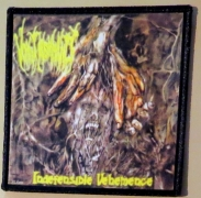 VOMIT REMNANTS -  Indefensible Vehemence - printed Patch