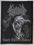 BLOODBATH - Grand Morbid Funeral - woven Patch