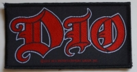 DIO - Logo - woven Patch