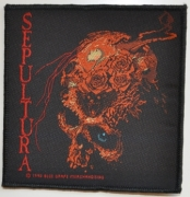 SEPULTURA - Beneath The Remains - woven Patch