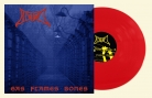 BLOOD - 12'' LP - Gas Flames Bones (clear red Vinyl)