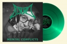 BLOOD - 12'' LP - Mental Conflicts (clear green Vinyl)