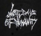 LAST DAYS OF HUMANITY - Logo - Printed Patch