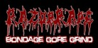 RAZOR RAPE - Logo - Sticker