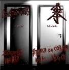 free at 10€+ orders: CHOKED BY OWN VOMITS / S.C.A.T -Split CD-