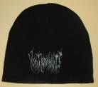 VOMIT REMNANTS - black Beanie - grey embroidery