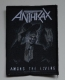 ANTHRAX - Among the Living - woven Patch