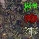BREDOR / DATURA / STALINO - 3way split Digipak CD - Donbass Brutal Syndicate