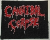 CANNIBAL CORPSE - embroidered Patch