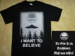CEREBRAL ENEMA - I want to belive - T-Shirt
