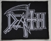 DEATH - Logo - woven Patch
