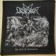 DESASTER - The Art of Destruction - woven Patch