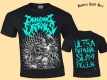 DRAGGING ENTRAILS - Ultra Guttural Slam Dozer - T-Shirt size XXL