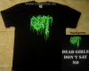 GUT - Dead Girls Don't Say No - T-Shirt Size XL