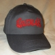 GUTALAX - grey Baseball Cap - red Logo