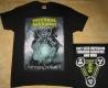 INTERNAL BLEEDING - Patterns Of Force - Yellow Logo - T-Shirt - Size XL