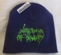 LAST DAYS OF HUMANITY - Purple Beanie - Green Logo