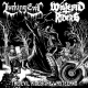 LURKING EVIL / WASTELAND RIDERS - split 10'' EP - The Evil Rides The Wasteland