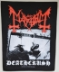 MAYHEM - Deathcrush - printed Backpatch