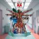 MEDICAL ETYMOLOGY - 12'' LP - The Vitruviam dissection (blue Vinyl)