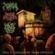 MOÑIGO / MORTUUS NEURONS / ANAL TRUE - split CD - Ritual de Iniciación Para Zombis Coprofagos