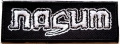NASUM - embroidered Logo Patch