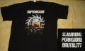RAPEMACHINE - Slamming Porngrind Brutallity - T-Shirt - size XXL (2nd Hand)