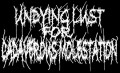 UNDYING LUST FOR CADAVERIC MOLESTATION - Printed Patch