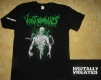 VOMIT REMNANTS - Brutally Violated - T-Shirt Size XL