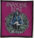 PARADISE LOST - Medusa - woven Patch