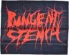 PUNGENT STENCH - textil Posterflag